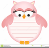 Free Owl Clipart For Baby Shower Image