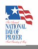 National Day Of Prayer Free Clipart Image