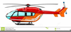 Helicopter Animation Clipart Image