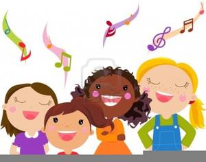 free children singing clipart free images at clker com vector rh clker com Girl Singing Clip Art child singing clipart
