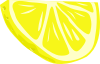 Lemon (half Slice) Clip Art
