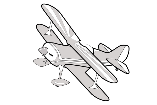 Clip Art Biplane Clipart grey biplane clipart free images at clker com vector clip art download this image as