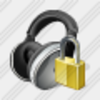 Icon Ear Phone Locked Image