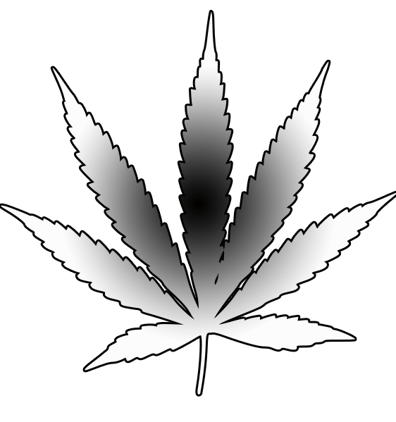 Cannabis Leaf | Free Images at Clker.com - vector clip art ...