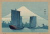Sailboats And Mount Fuji. Image