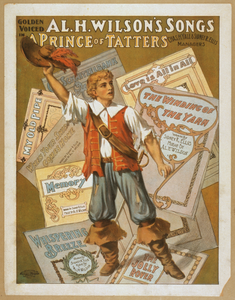 Golden Voiced Al. H. Wilson S Songs In A Prince Of Tatters Image