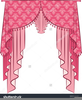 Curtain And Window Clipart Image