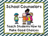 Free Guidance Counselor Clipart Image