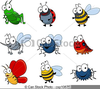 Cartoon Clipart Of Insects Image