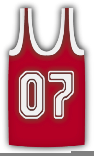 0dca664ba20 Blank Basketball Jersey Clipart | Free Images at Clker.com - vector ...