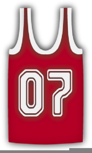 3aa6535dc5e Blank Basketball Jersey Clipart   Free Images at Clker.com - vector ...