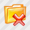 Icon Folder Remove 2 Image