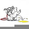 Dogs And Rainbows Clipart Image