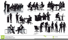 Clipart Of Production Workers Image