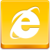 Free Yellow Button Internet Explorer Image