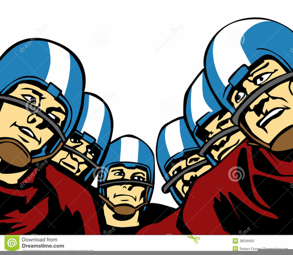 American Football Players Clipart Free Images At Clker Com