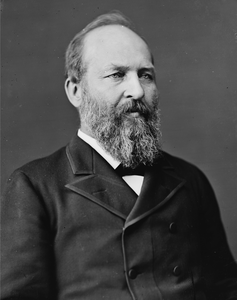 James Abram Garfield Photo Portrait Seated Image