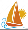Yacht Clipart Free Image