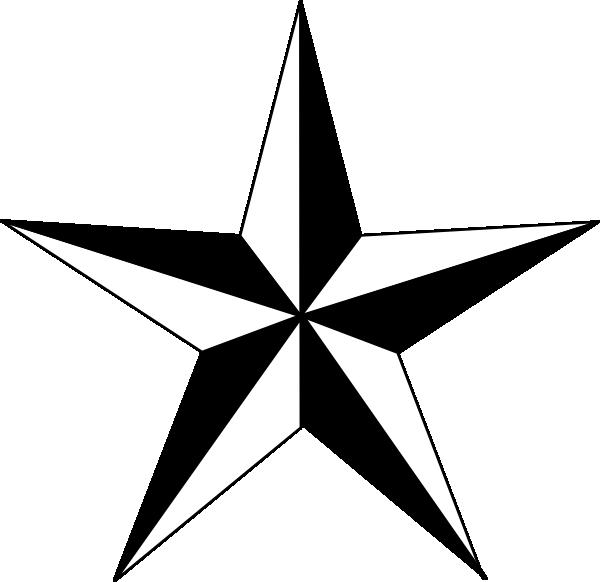 Texas Star Clip Art at Clker.com - vector clip art online ...