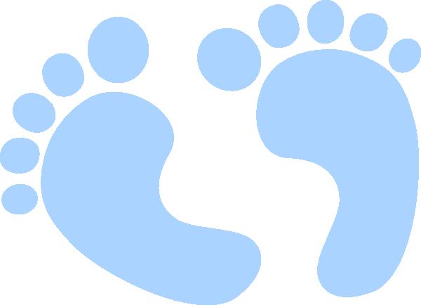 blue baby feet clip art at clker com vector clip art baby feet clip art blue baby feet clip art outline