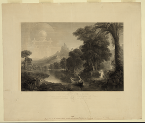 The Voyage Of Life - Youth  / Painted By Thomas Cole ; Engraved By James Smillie. Image