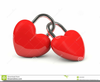 Two Hearts Free Clipart Image