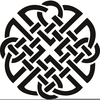 Celtic Love Knot Clipart Image