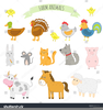 Clipart Farm Animals Pig Image