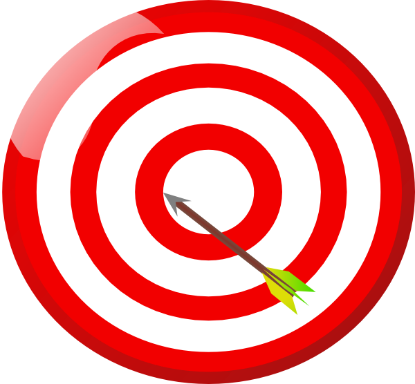 clip art target bullseye - photo #13