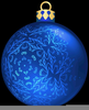 Christmas Balls Ornaments Clipart Image