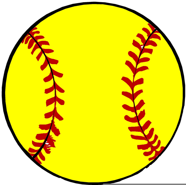 free yellow softball clipart free images at clker com vector rh clker com clipart softball bat clip art softball free