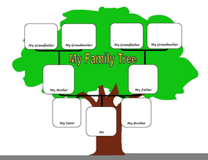 Clipart Pictures Family Tree Image