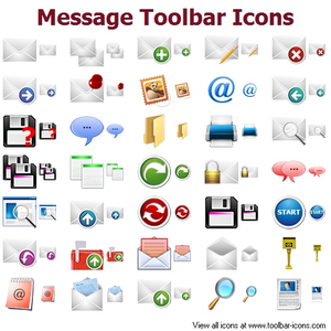Message Toolbar Icons Image