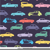 Car Classic Clipart Image