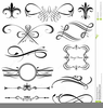 Scrolls And Swirls Clipart Image