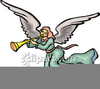 Heralding Angels Clipart Image
