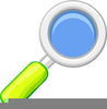 Magnifying Lens Clipart Image