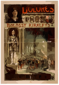 Dolores, Bolossy Kiralfy S Great Production By Victorien Sardou. Clip Art
