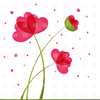 Heart With Flowers Clipart Image