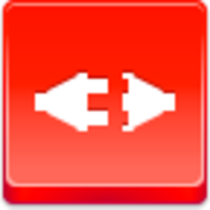 Free Red Button Icons Disconnect Image