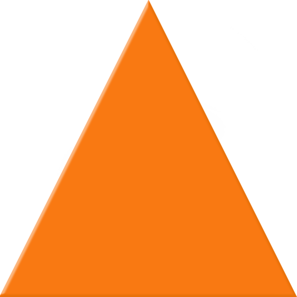 orange triangle free images at clker com vector clip art online rh clker com triangle clip art shapes clipart warning triangle