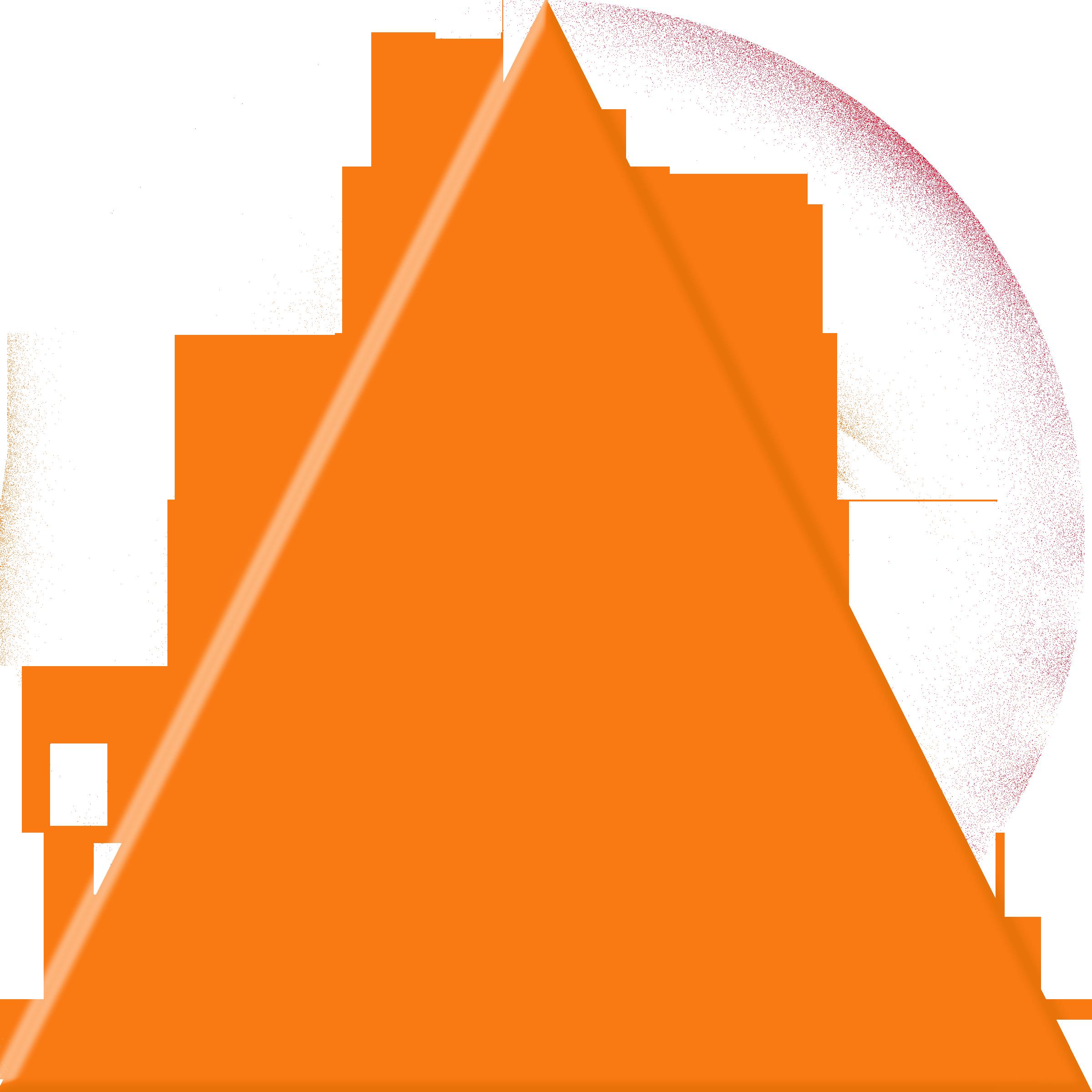 orange triangle free images at clker com vector clip art online rh clker com triangle clip art images triangle clip art shapes
