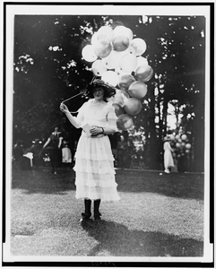 Mrs. Orme Thornberry, Balloon Girl At The Near East Relief Benefit Garden Fete] Image