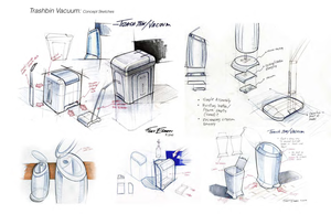 Industrial Design Storyboard Image