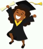 Free Graduate Silhouette Clipart Image