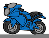 Clipart Moto Trial Image