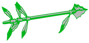 Green Spear Cut Image