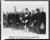 [members Of The Brooklyn New York Chamber Of Commerce Led By Raymond H. Fiero, Posed Standing With President Coolidge] Image