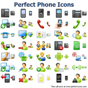 Perfect Phone Icons Image
