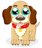Cute Puppy Cartoon Image